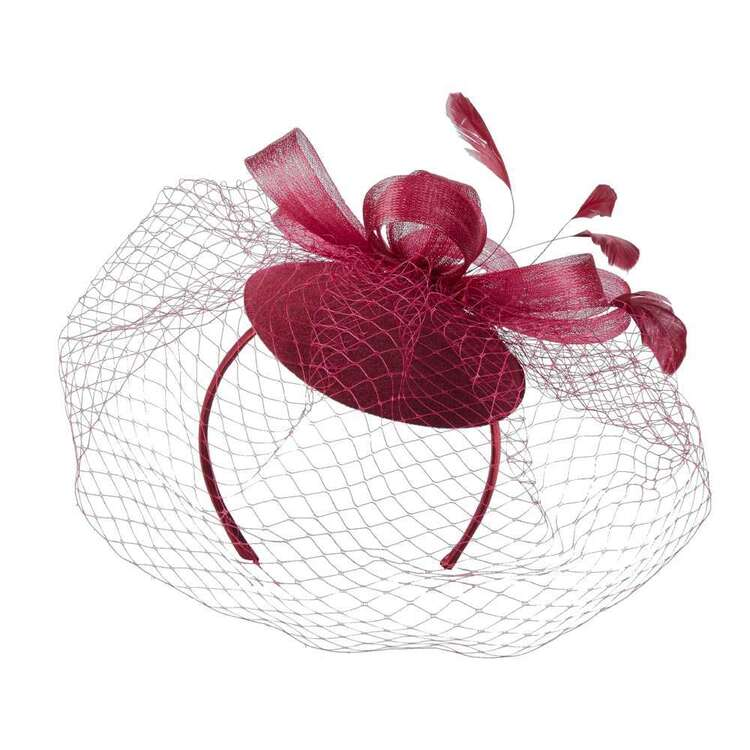 Maria George Lame Sinamay Fascinator