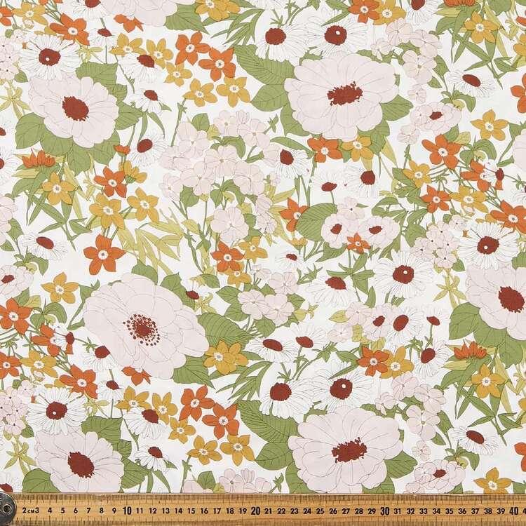 Big & Beautiful Printed 135 cm Rayon Fabric