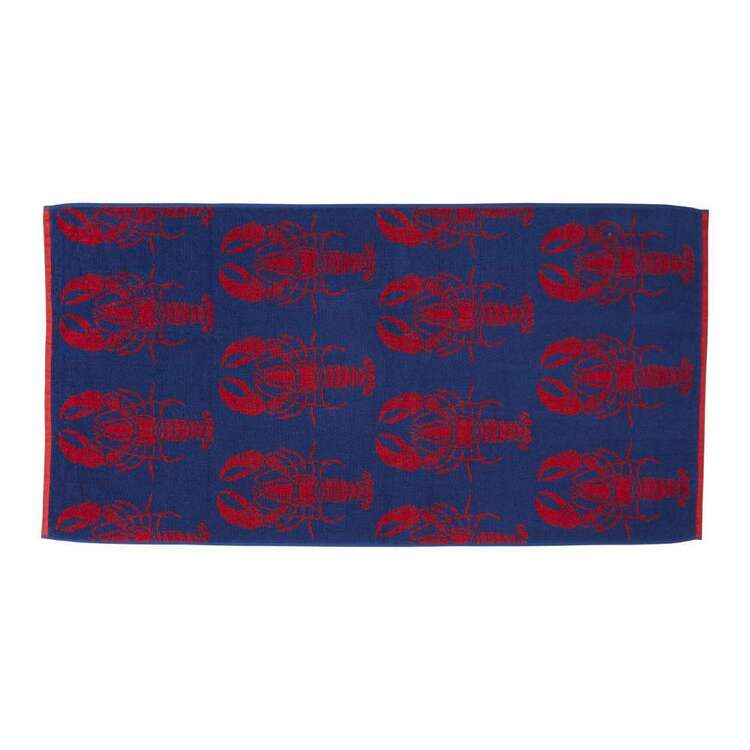 Brampton House Lobster Beach Towel