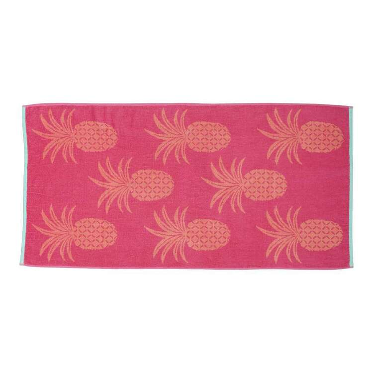 Brampton House Pineapple Beach Towel