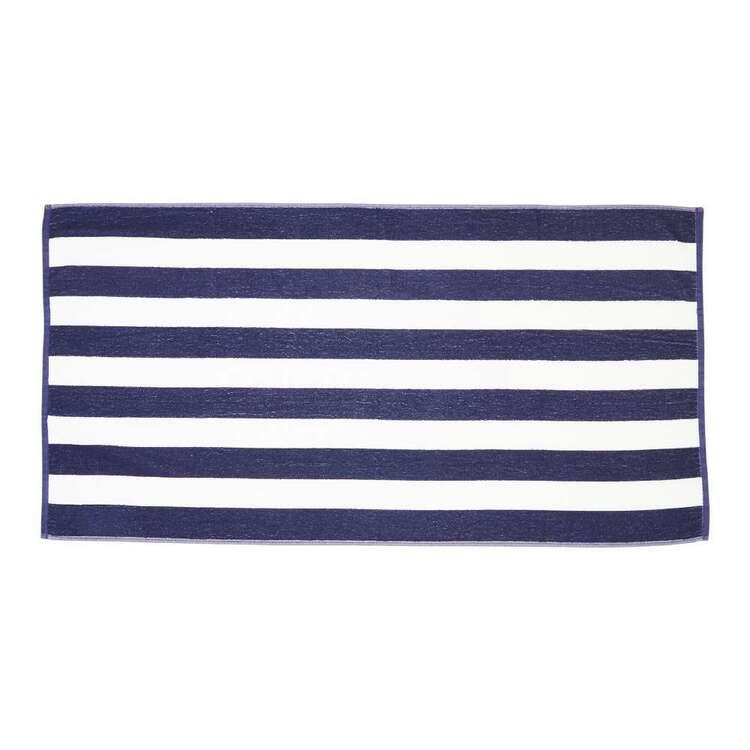 Brampton House Stripe Beach Towel