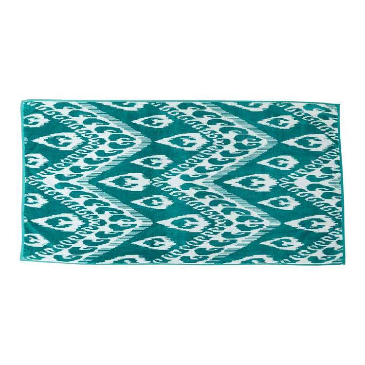 KOO Elite Ikat Beach Towel