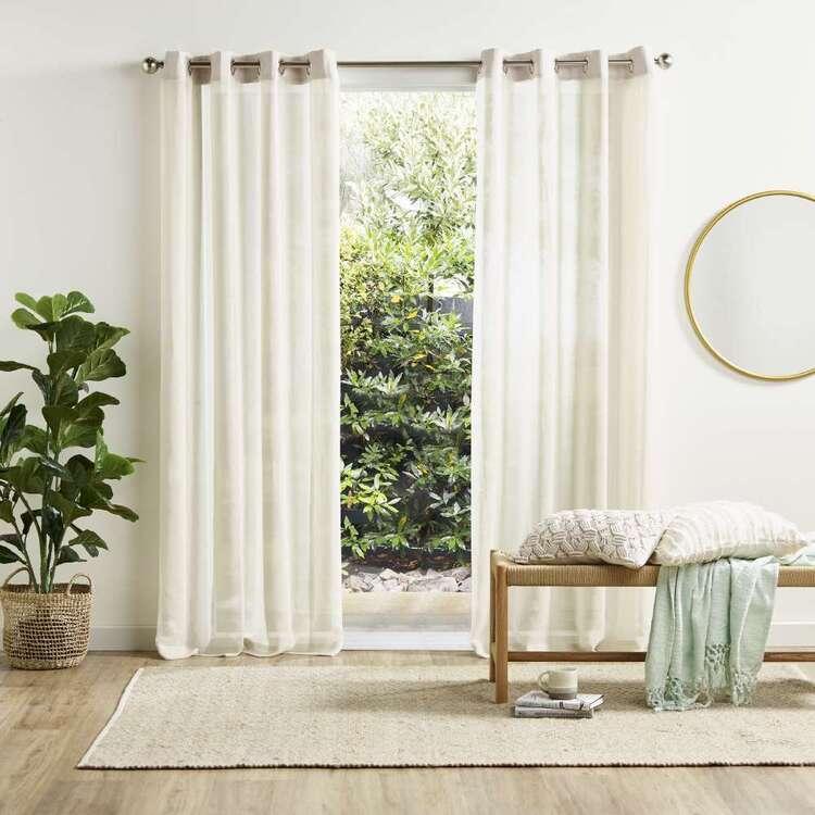 KOO Tuscany Sheer Eyelet Curtains