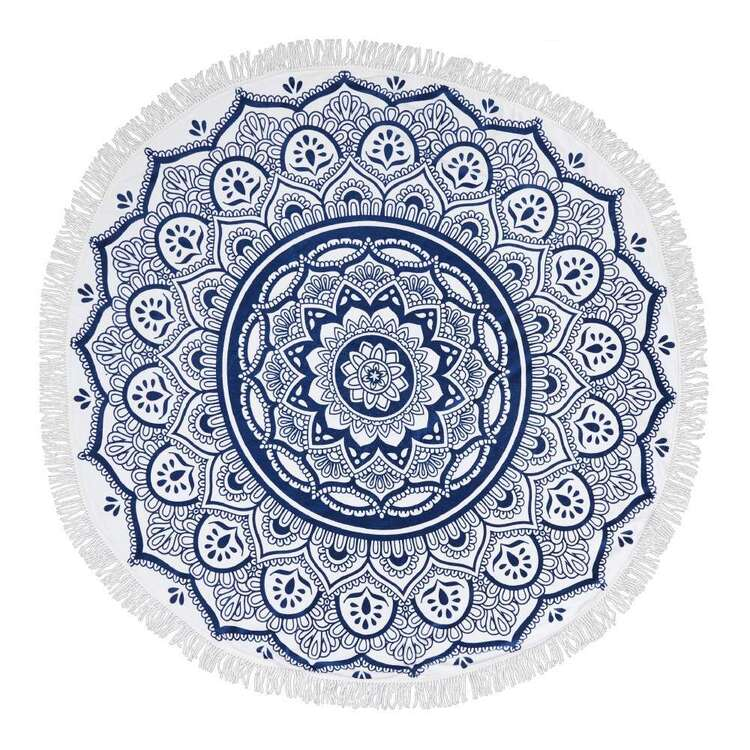 KOO Elite Mandala Round Beach Towel