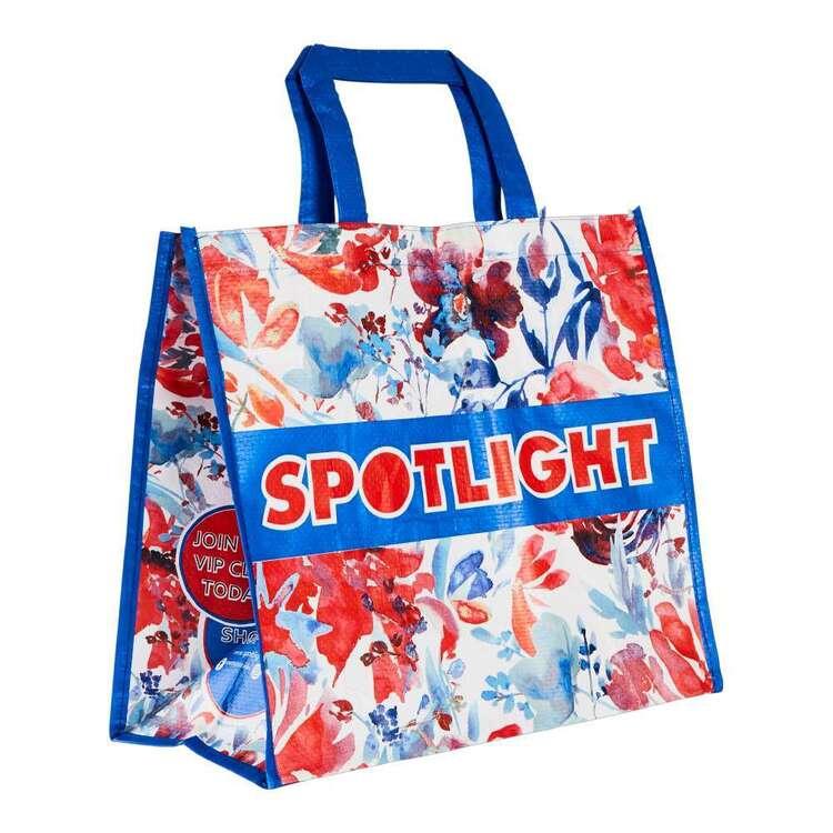 Spotlight Floral Shopping Bag