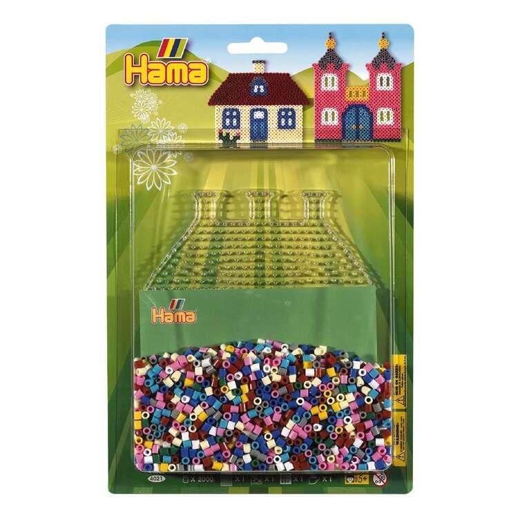 Hama House & Castle Blister Bead Kit