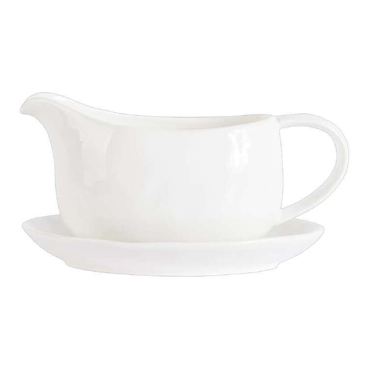 Dine By Ladelle Entertain Gravy Boat & Tray