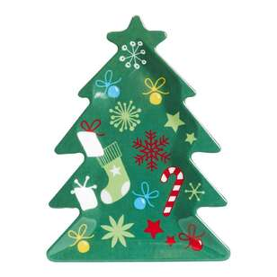 Christmas By Ladelle Tree Plate
