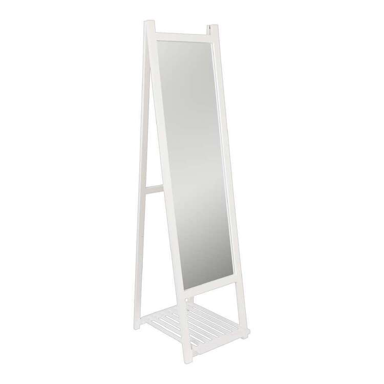 Emerald Hill 45 x 155 cm Free Standing Mirror With Shelf