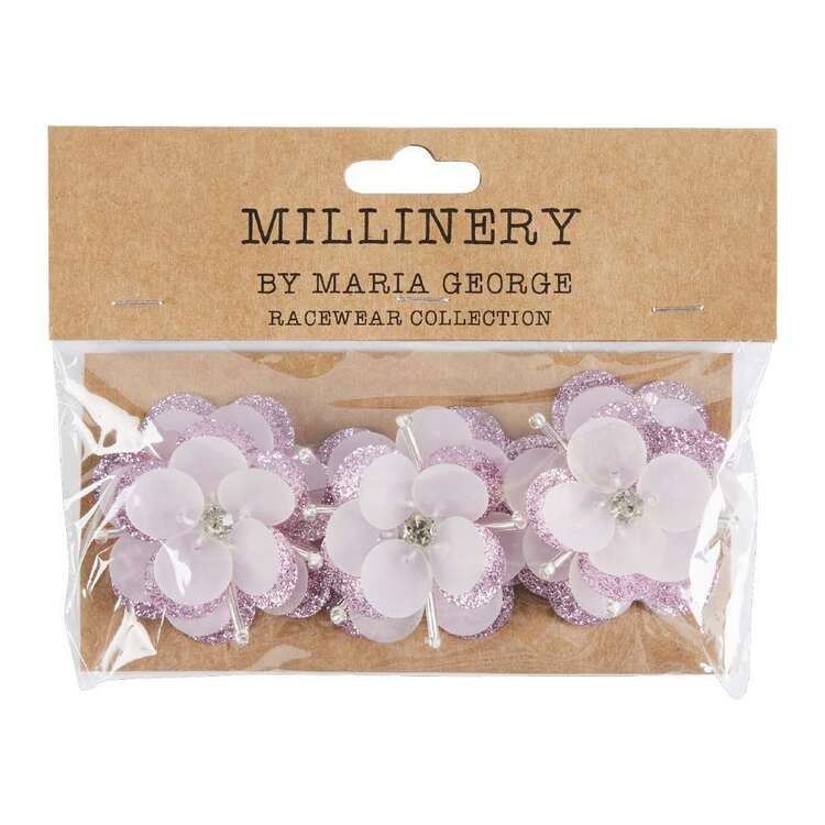 Maria George Two-Toned Acrylic Flowers 3 Pack