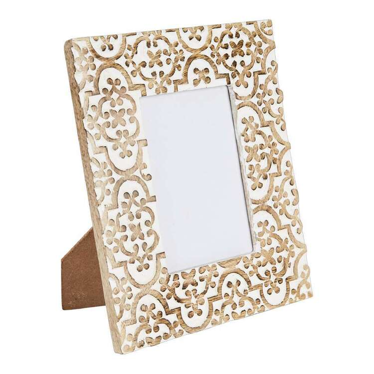 Emerald Hill Boho Wood Frame