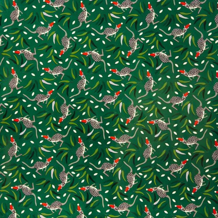 Jolly & Joy Kangaroo Christmas Wrapping Paper