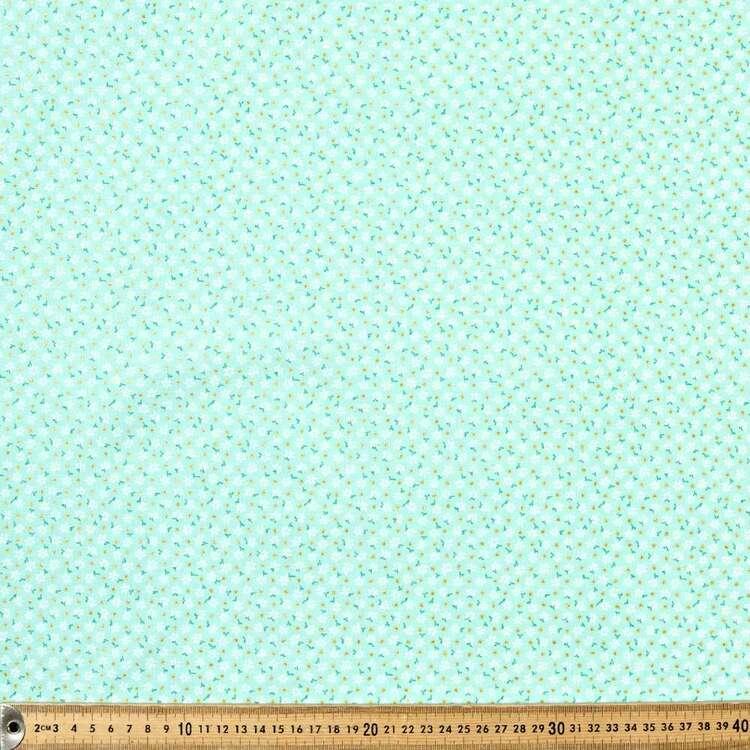 Floral Dots Blender Cotton Fabric