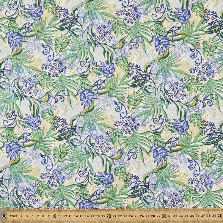 Marisol Leaf Allover Cotton Fabric