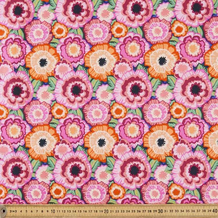 Marisol Packed Floral Cotton Fabric
