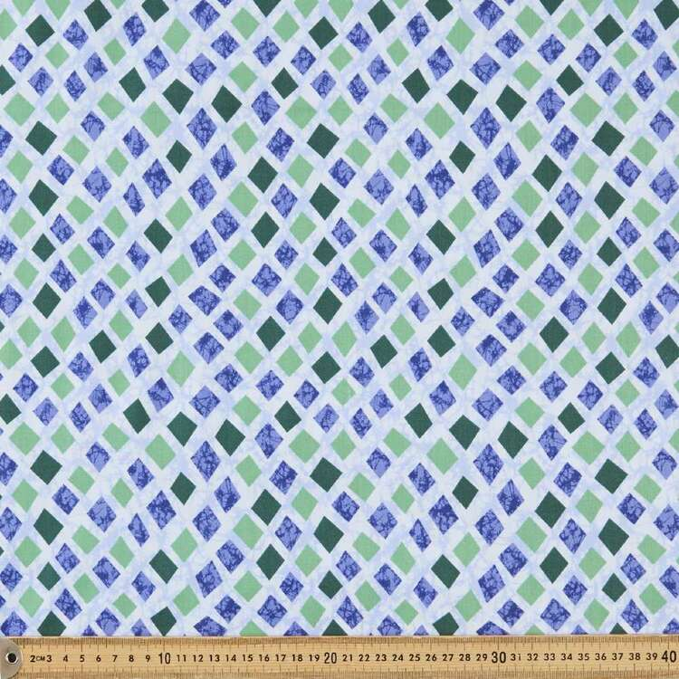 Marisol Textured Diamonds Cotton Fabric
