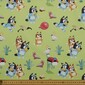 Bluey The Great Outdoors Cotton Fabric Green 112 cm
