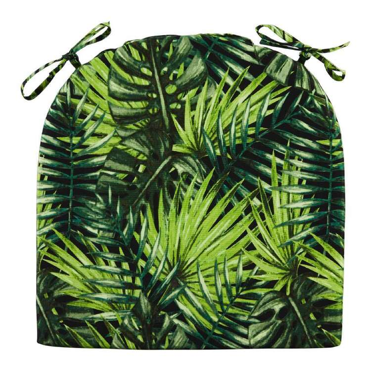 Emerald Hill Tropics Printed Chair Pad 2 Pack
