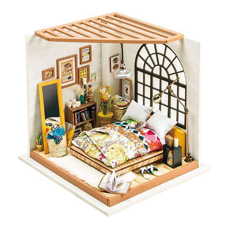 Robotime Alice Bedroom Mini House Kit