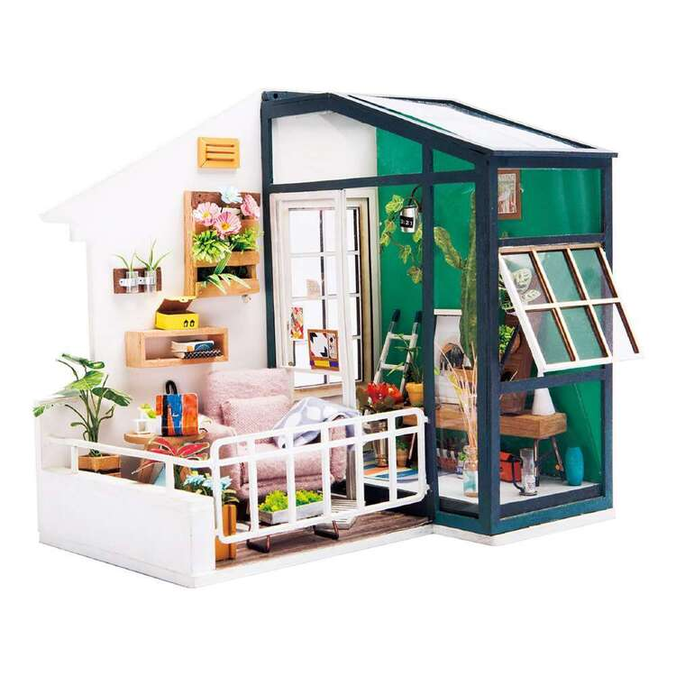 Robotime Balcony Daydreaming Mini House Kit