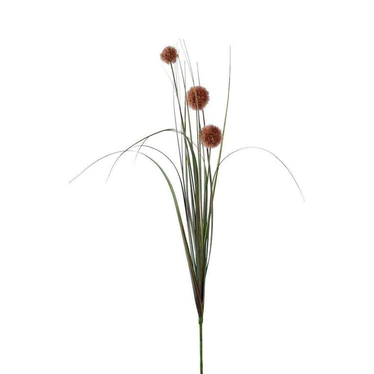 84 cm Pompom Spray With Grass