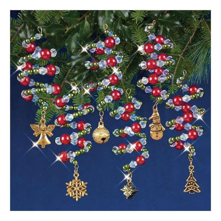 Solid Oak Christmas Charmers Ornament Kits