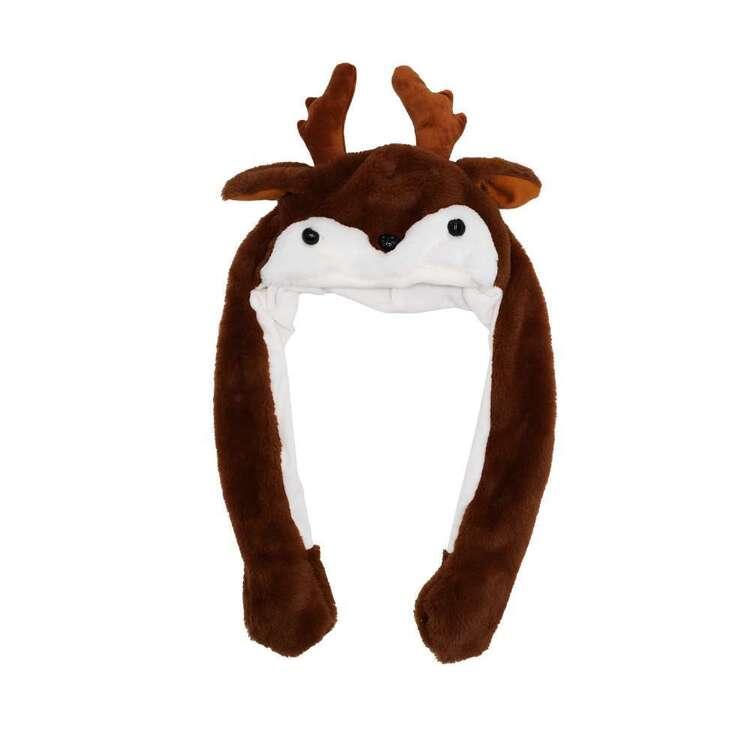 Jolly & Joy Reindeer Moving Ears Hat