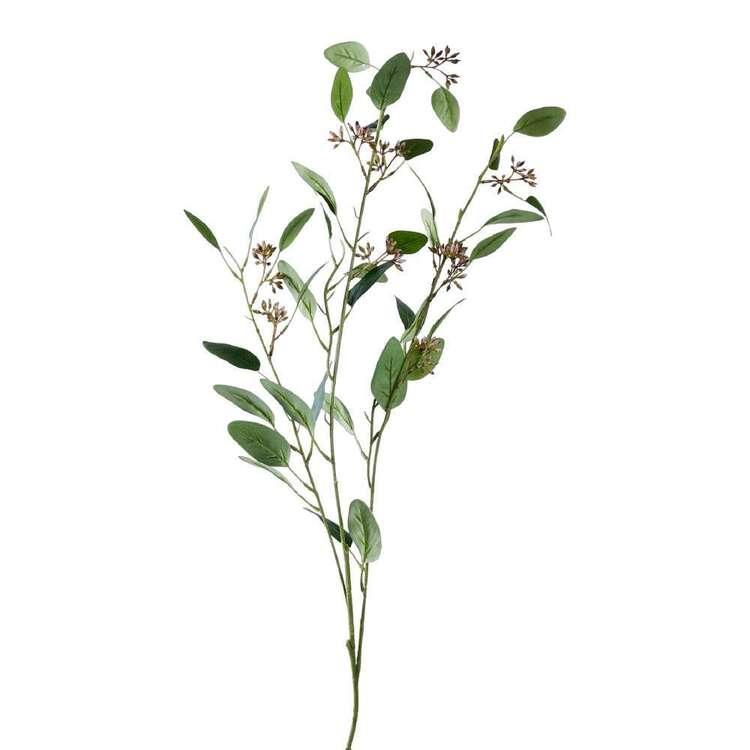 100 cm Seeded Eucalyptus Spray