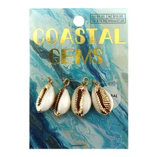 Coastal Cowrie Shells 4 Pack
