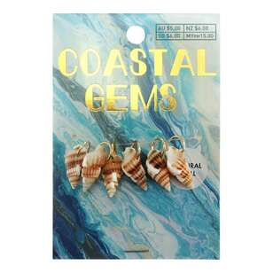 Coastal Conch Shells 6 Pack