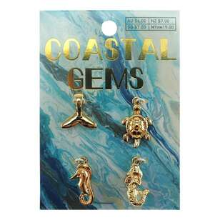 Coastal Charms Sea Animals 4 Pack