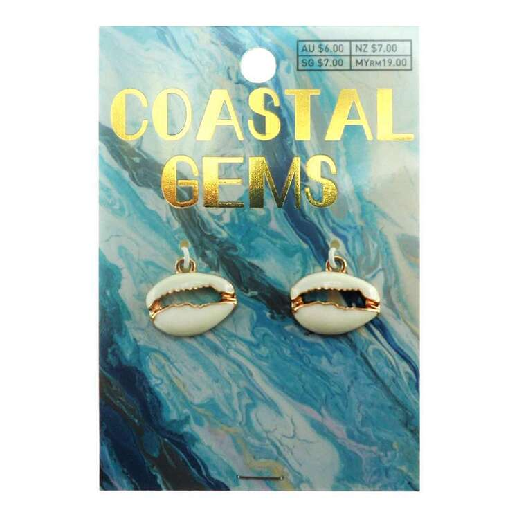 Coastal Charms Cowrie 2 Pack
