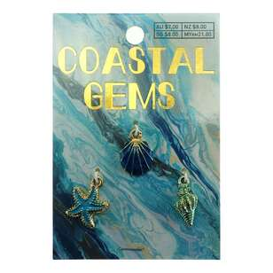 Coastal Charms Sea 3 Pack