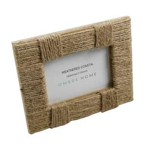 Ombre Home Weathered Coastal Jute Rope Frame