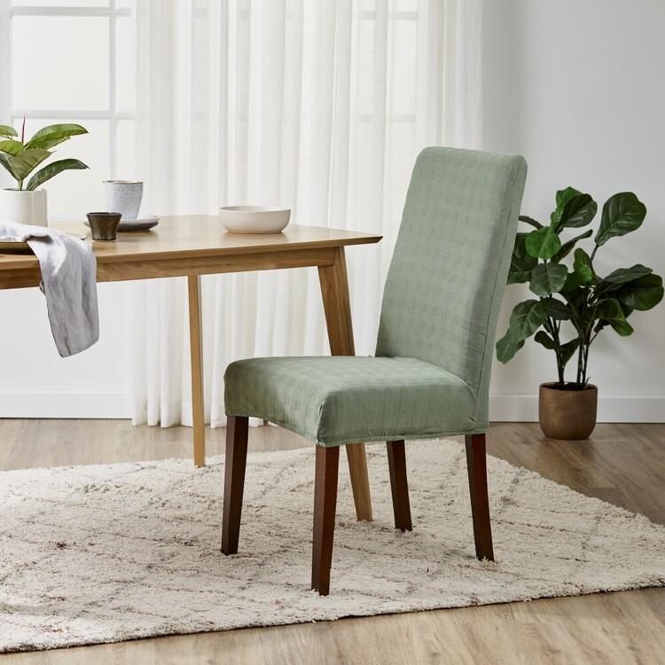 Ardor Check Dining Chair Cover