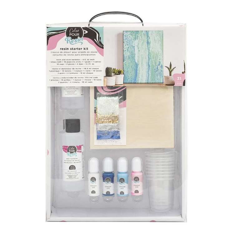 American Crafts Colour Pour Resin Starter Kit