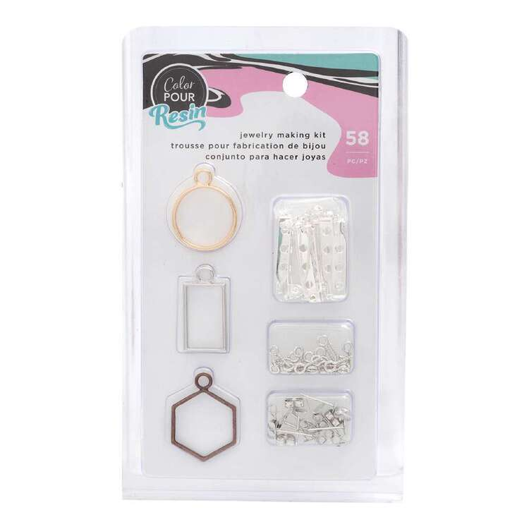 American Crafts Colour Pour Resin Jewelry Making Kit