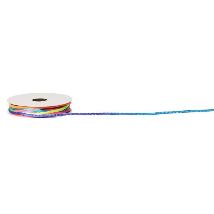 Rainbow Cord Ribbon