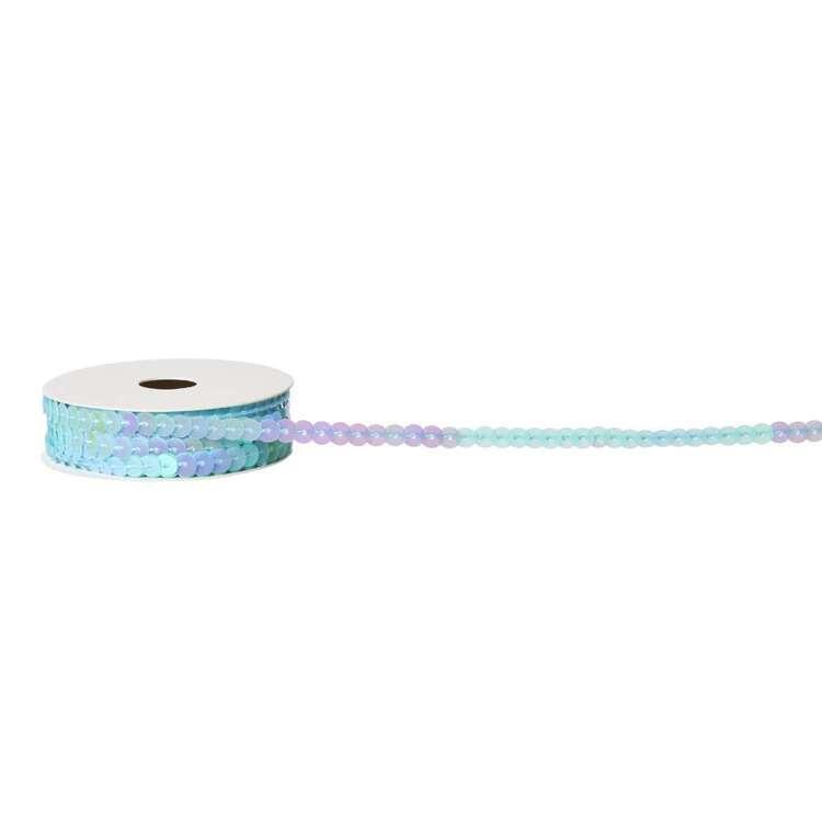 Blue Sequin Ribbon