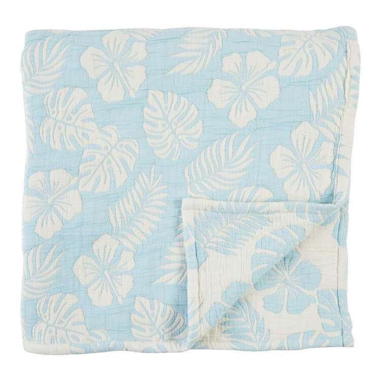 Koo Home Island Jacquard Reversible Throw