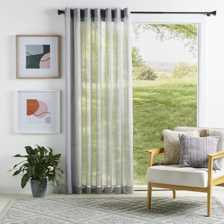KOO Essex Sheer Eyelet Curtains