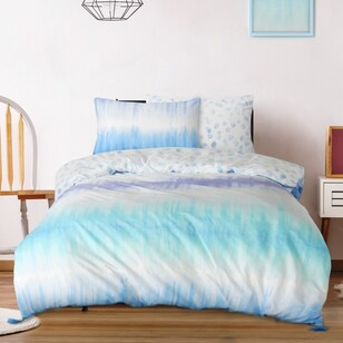 Ombre Blu More Than A Rainbow Quilt Cover Set