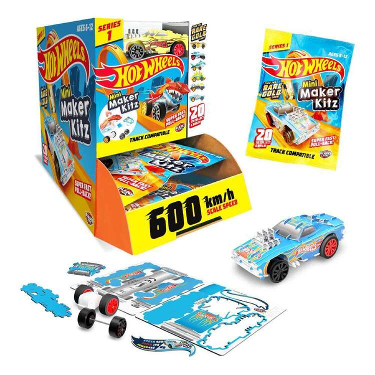 Hot Wheels Maker Kitz Mini Blind Bag