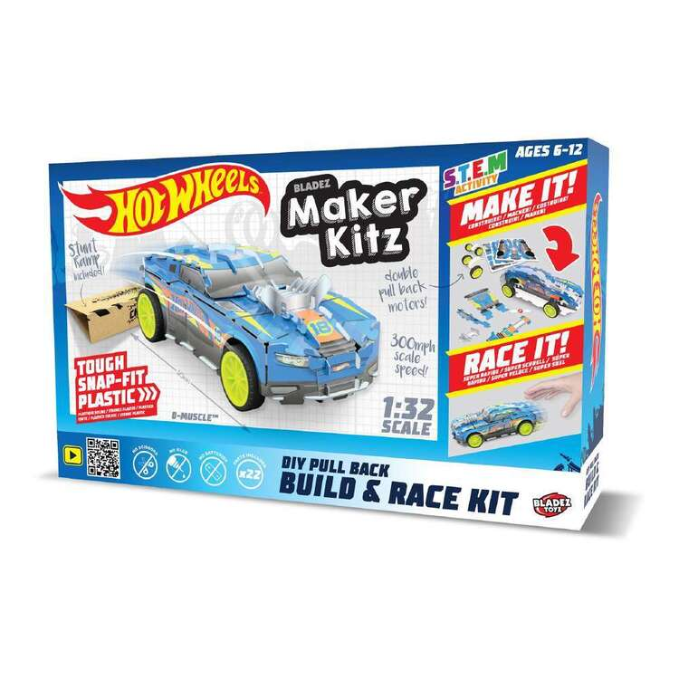 Hot Wheels Build And Race Maker Kitz