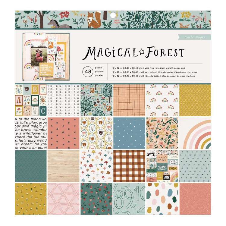 Crate Magical Forest 12 x 12 in Paper Pad