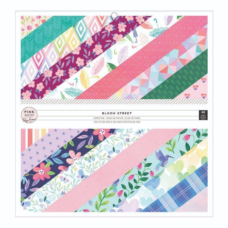 Pink Paislee Bloomstreet Paper Pad
