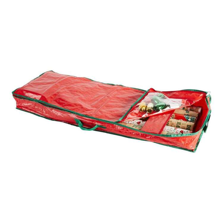 Living Space Festive Xmas Wrap Storage Bag