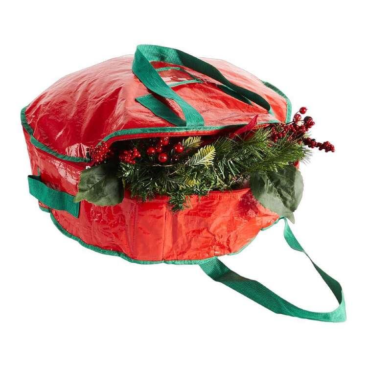 Living Space Festive Xmas Wreath Storage Bag