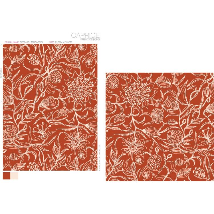 #4 Printed Bamboo Cotton Jersey Fabric