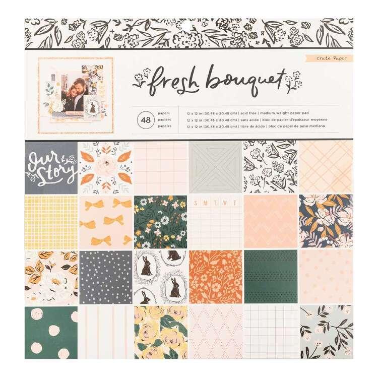 Crate Paper Fresh Bouquet Paper Pad